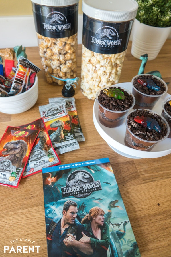 Jurassic World Dinosaur Movie Night Treats