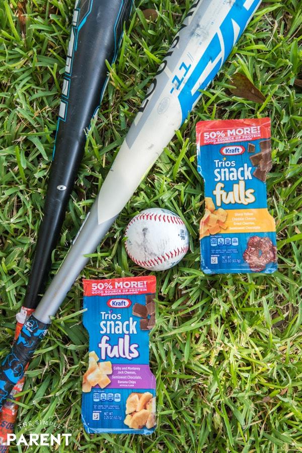 Kraft SnackFULLS at the baseball field