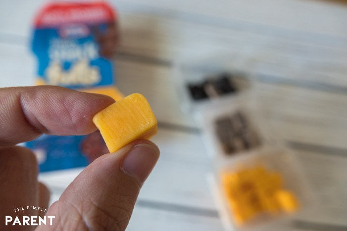 Kraft Cheese in Krafts Trios SnackFULLS