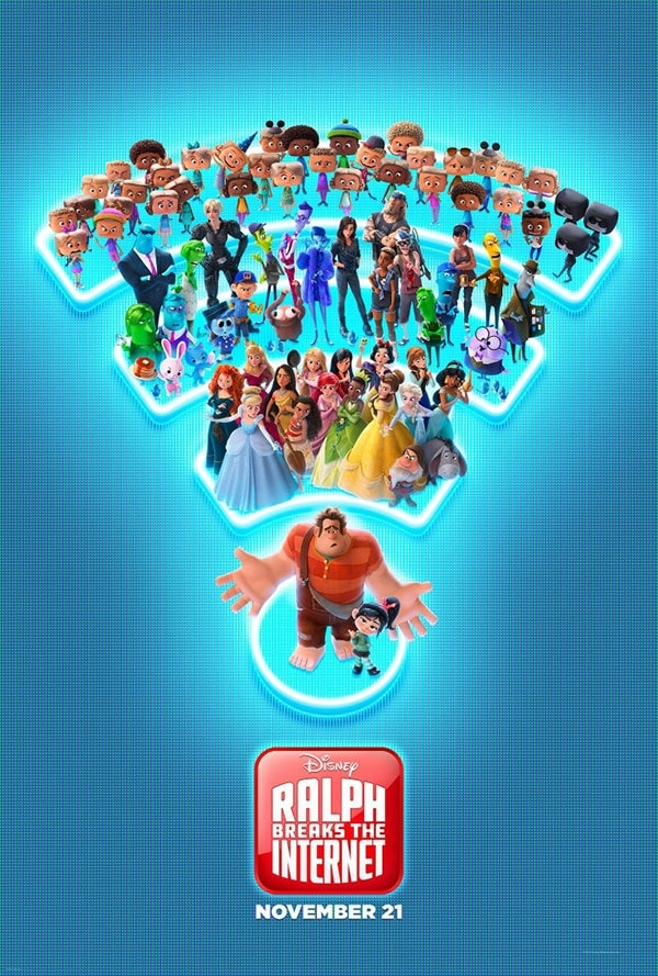 New Ralph Breaks the Internet movie poster