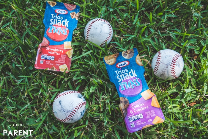 Kraft SnackFUNS for team snack ideas after games