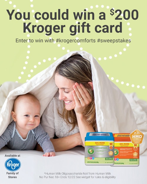 Comforts Formula at Kroger Sweepstakes