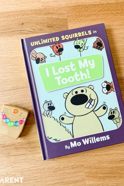DIY Tooth Fairy Box with Unlimited Squirrels: I Lost My Tooth Book
