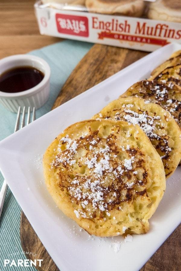 English Muffin French Toast recipe