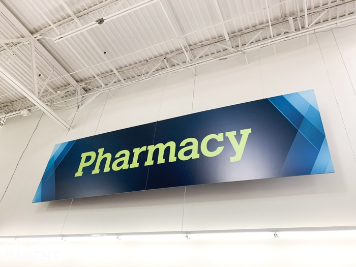 Pharmacy at Sam's Club with all supplies for family caregivers