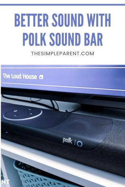 How the Polk Command Sound Bar Ups Family Entertainment