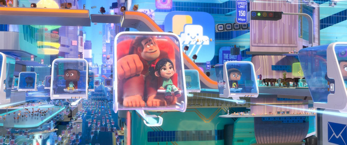 The world of Ralph Breaks the Internet