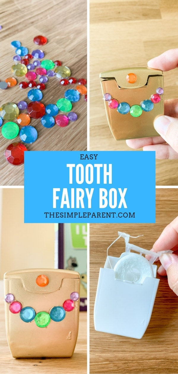 DIY Tooth Fairy Box for kids is a fun craft to help children to learn about loosing teeth. Decorating ideas can be personalized for boys or girls!