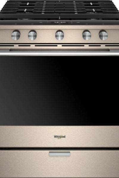 Whirlpool Smart Oven - Whirlpool Sunset Bronze Gas Convection Range