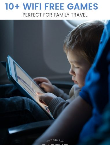 WIFI free games are perfect for traveling! Check out these WIFI free apps for kids the next time you go on a road trip or a long flight! No internet games mean everyone can be entertained on the way to your destination! These work for iPhone and Android! Traveling with kids has never been easier!