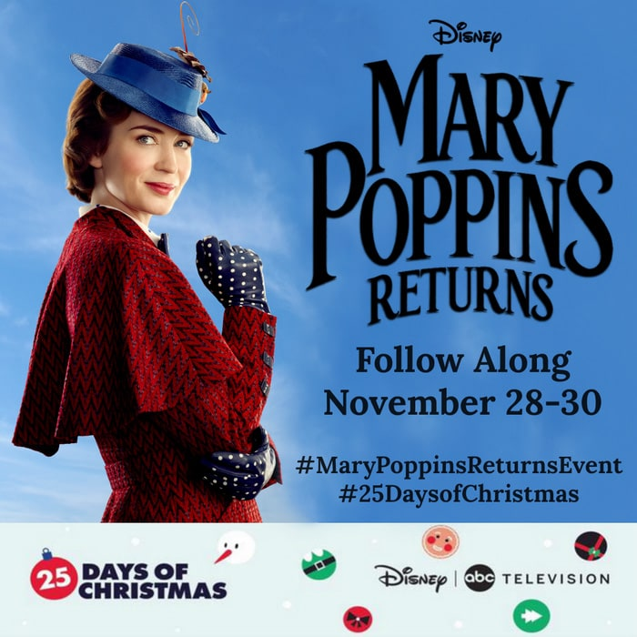 Mary Poppins Returns event