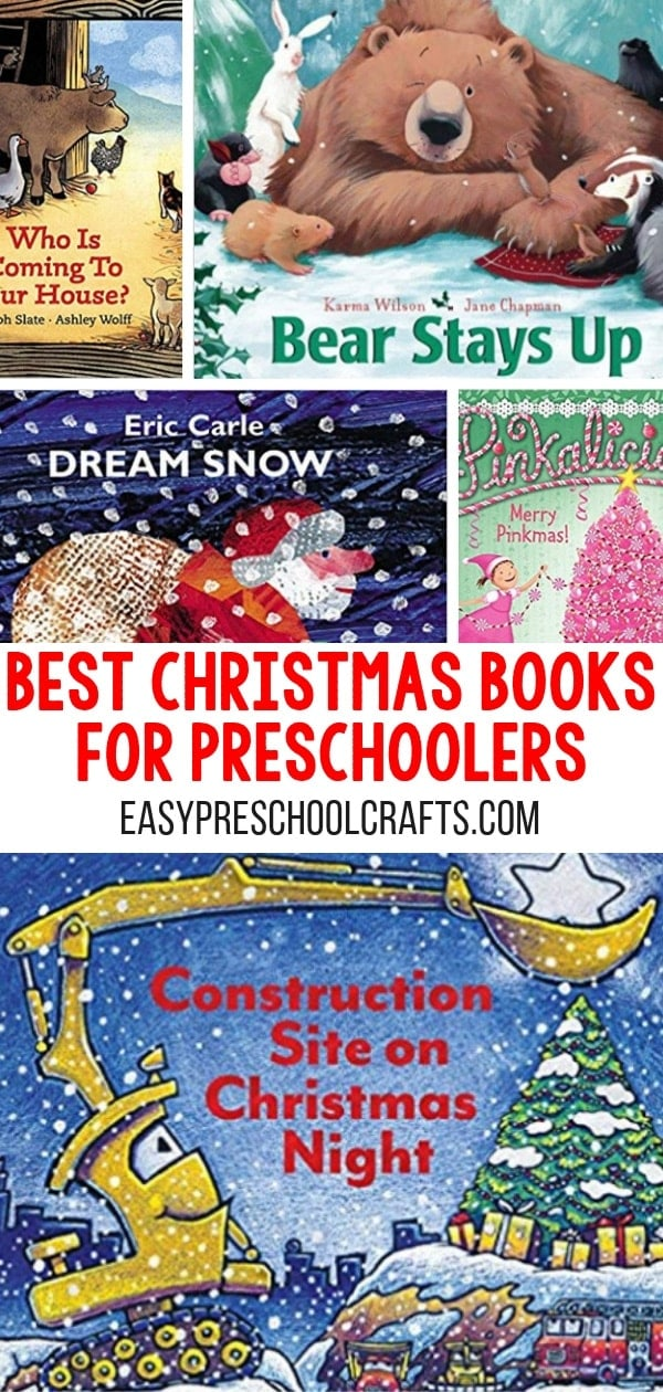 Check out this list of the best Christmas books for preschoolers and toddlers! Start a new reading holiday traditions in your home this holiday season! There's a cute book for every day of December We love #4! It's a new classic for sure! These also make fun gift ideas!