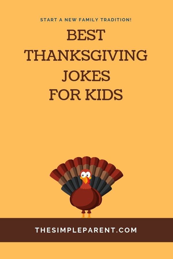 Funny Thanksgiving Jokes for Kids bring humor to families on Turkey Day! Make your holiday dinners more fun with these hilarious jokes and riddles chosen by the kids! (Warning: some are pretty corny and cheesy but you'll still laugh!)