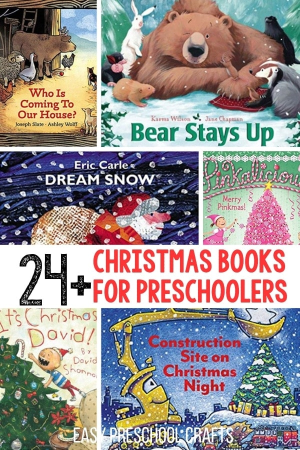 24 christmas books for preschoolers