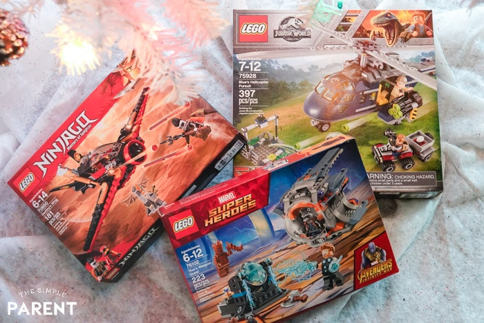 Christmas Wish List Ideas: LEGO sets