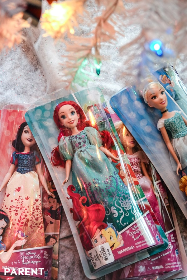 Disney Princess dolls for Christmas
