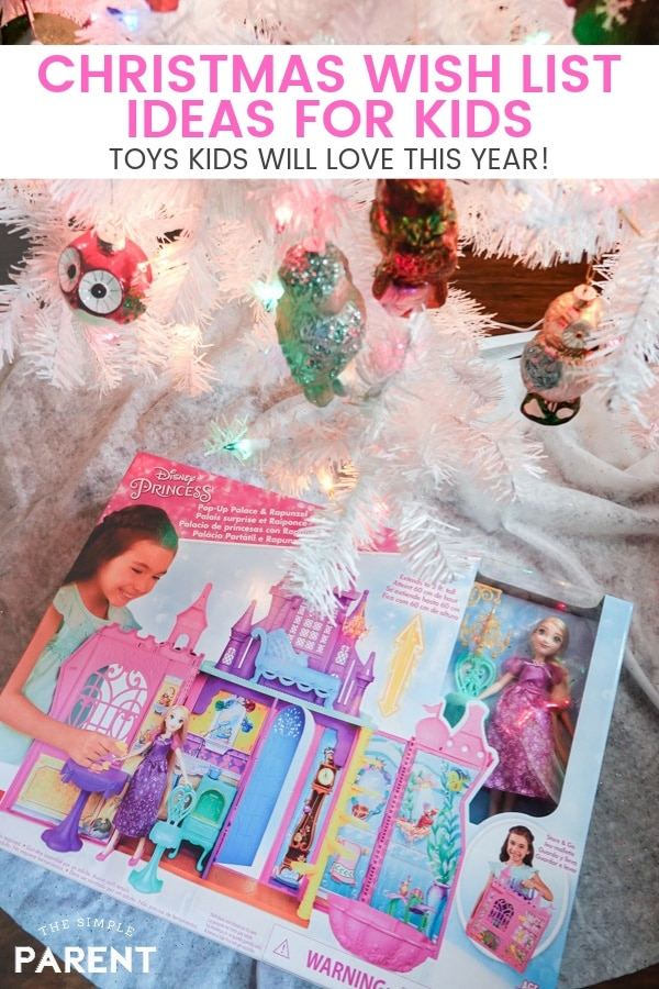 Check out these Christmas Wish List Ideas for kids that are guaranteed to be a hit! You can count on the toys your kids love! Ideas for girls and for boys all in one place!