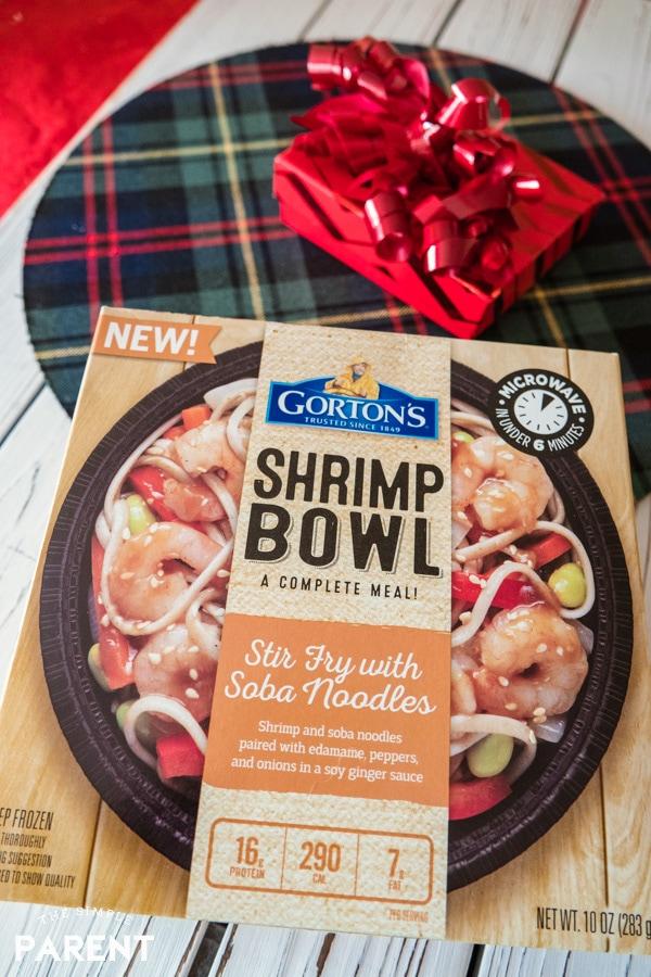 Gorton's Shrimp Bowl Stir Fry with Soba Noodles
