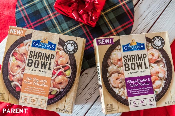 Two varieties of Gorton's Shrimp Bowls