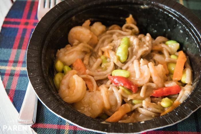 Gorton's Shrimp Bowl Soba Noodles