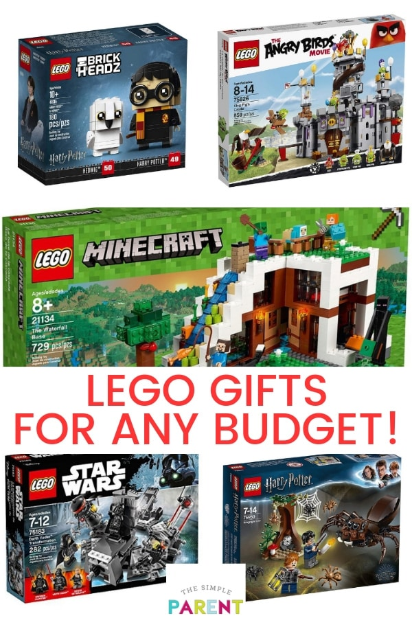 Check out our list of Lego Gifts for any budget! There are lego sets for boys, for girls, and for adults! There is something for everyone in this list of Lego Ideas! Snag on in your price range for a great holiday gift!