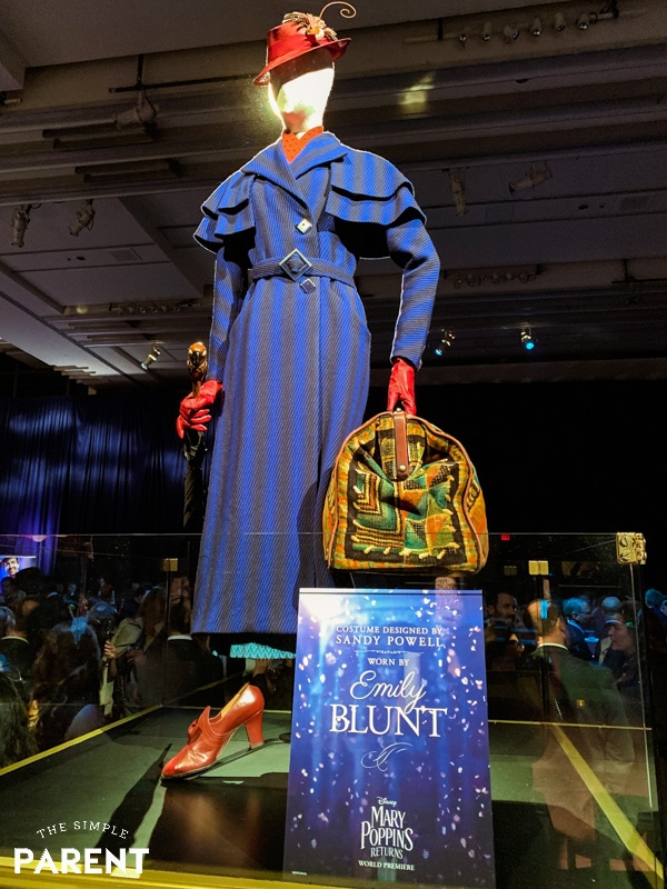 Mary Poppins costume from Mary Poppins Returns