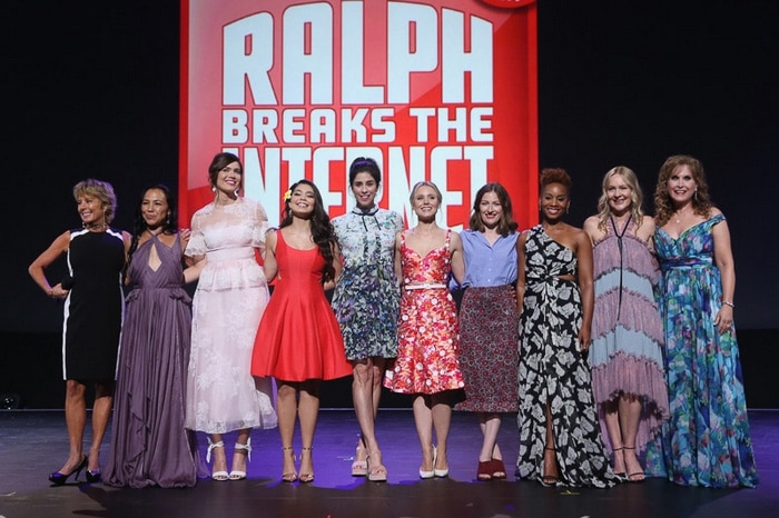 Actresses who voiced original Disney Princesses feature in Ralph Breaks the Internet