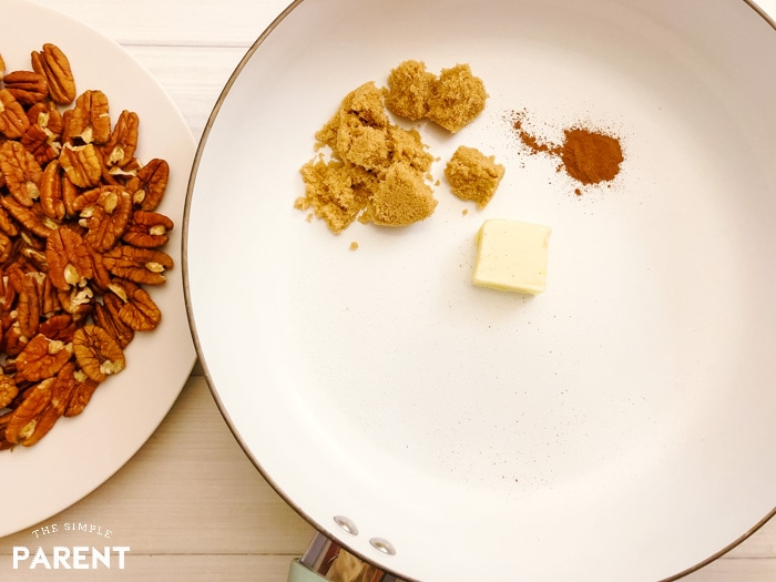 How to make candied pecans on the stovetop