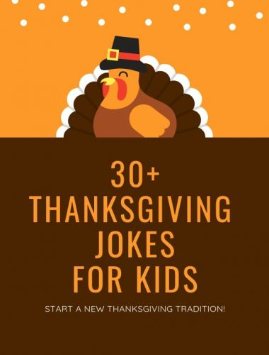 Funny Thanksgiving Jokes for Kids bring humor to families on Turkey Day! Make your holiday dinners more fun with the these hilarious jokes and riddles chosen by the kids! (Warning: some are pretty corny and cheesy but you'll still laugh!)