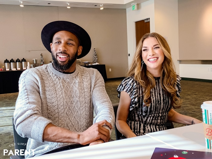 "Stephen ""tWitch"" Boss and his wife Allison Holker"