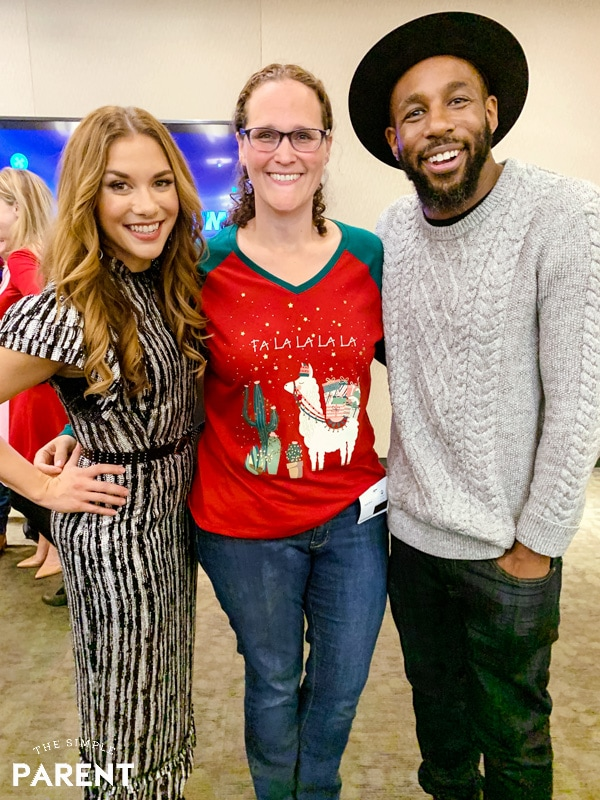 "Mariah Moon of The Simple Parent Stephen ""tWitch"" Boss and his wife Allison Holker"