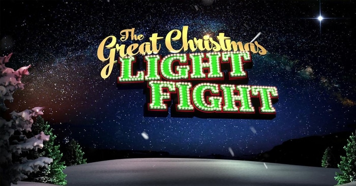 The Great Christmas Light Fight on ABC's 25 Days of Christmas