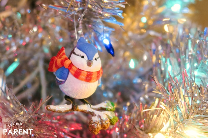 Bluebird Christmas ornament