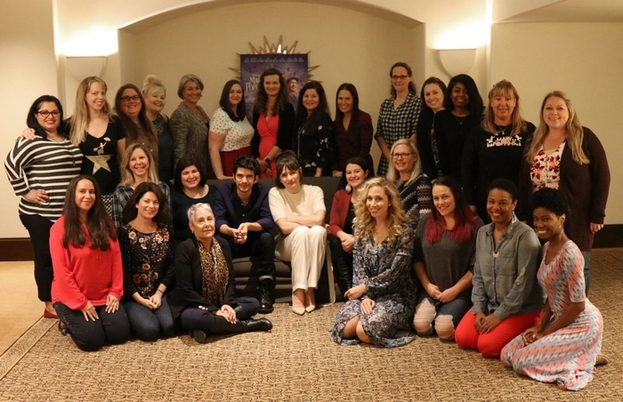 Blogger group interview with Ben Whishaw and Emily Mortimer of Mary Poppins Returns