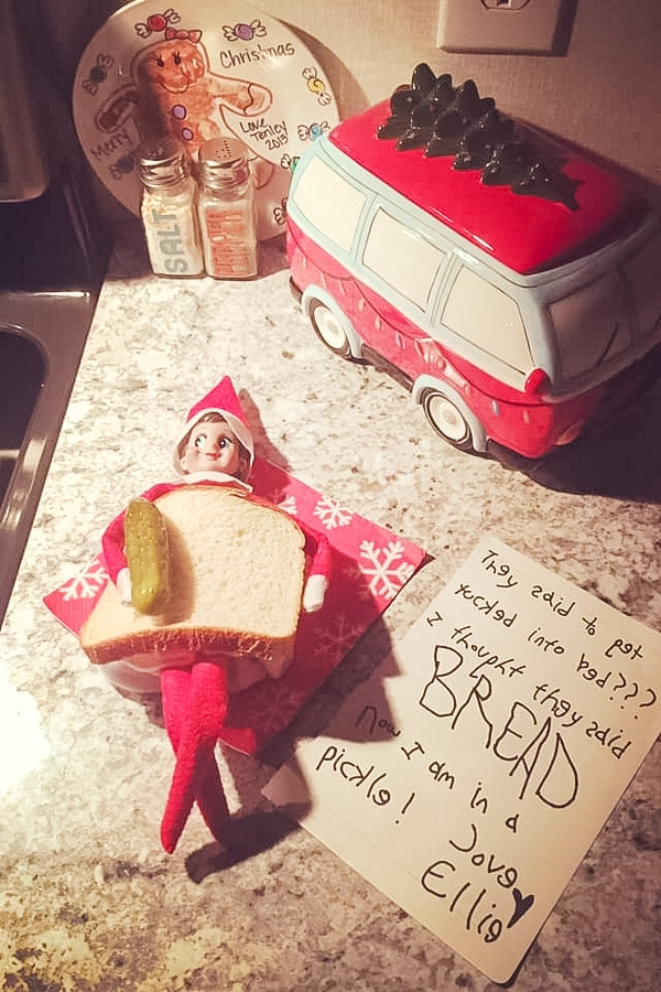 Elf on the Shelf: Let's Go to Bread