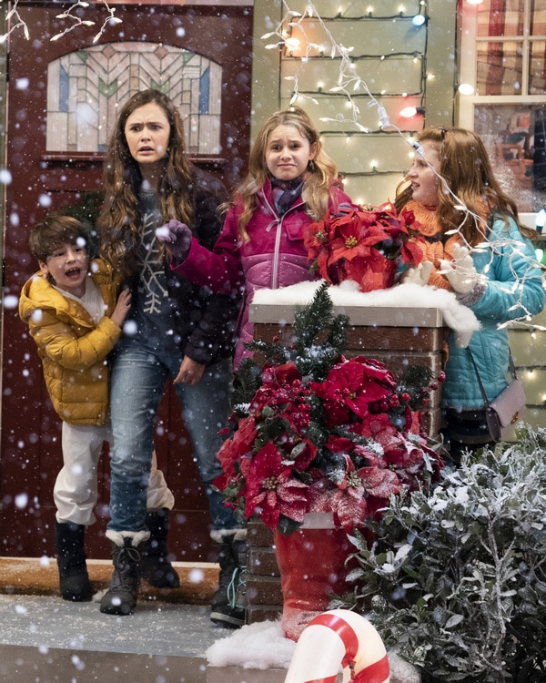 Coop and Cami Christmas episode on Disney Channel