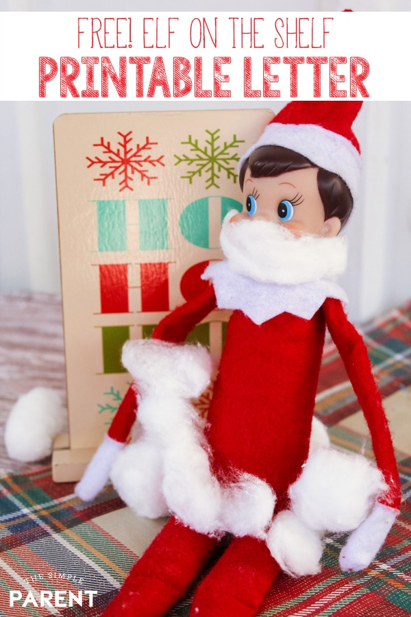 Kick off your holiday traditions with a free printable Elf on the Shelf letter to kids! Whether you need an arrival letter, welcome back letter, or a goodbye letter, these are some easy ideas to try!