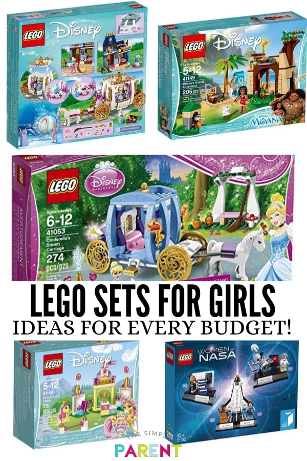 LEGO sets for girls make great holiday gift ideas! You can find LEGOs to fit every budget! We've got some of our favorite sets for the kids organized by price!