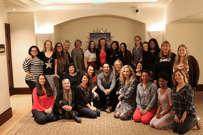 Lin-Manuel Miranda Mary Poppins Interview with #MaryPoppinsReturnsEvent bloggers