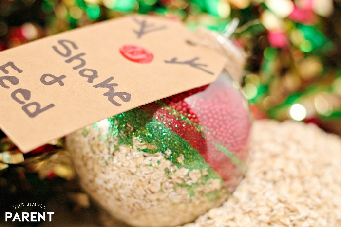 How to Make Reindeer Food ornament