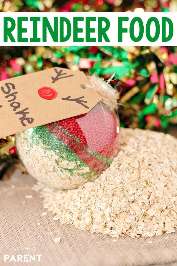 Magic Reindeer Food in an ornament