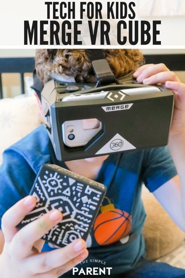 MERGE VR Cube is a one of the best STEM toys for kids. It's great for elementary ages, for teens, for girls and for boys! The virtual reality cube and goggles headset offers fun activities and ideas that promote problem solving, engineering, and more! Check out our review to see how it works!