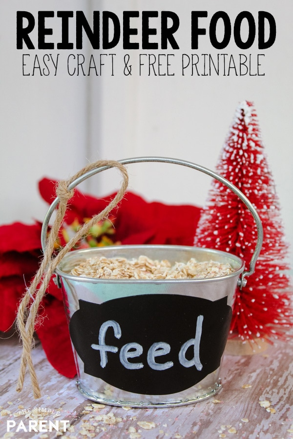 picture relating to Reindeer Food Poem Printable referred to as Cost-free Printable Reindeer Food items Poem Farmhouse Bucket Craft