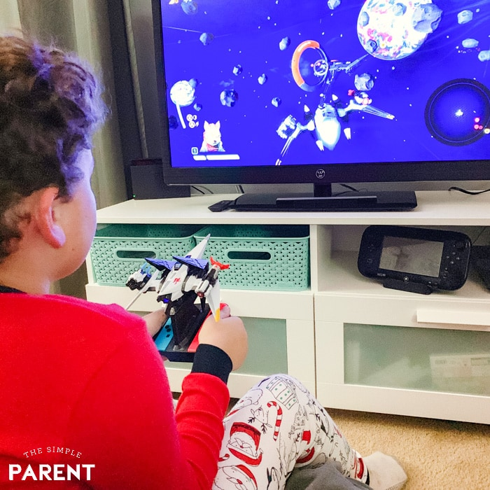 Boy playing Starlink: Battle for Atlas for Nintendo Switch