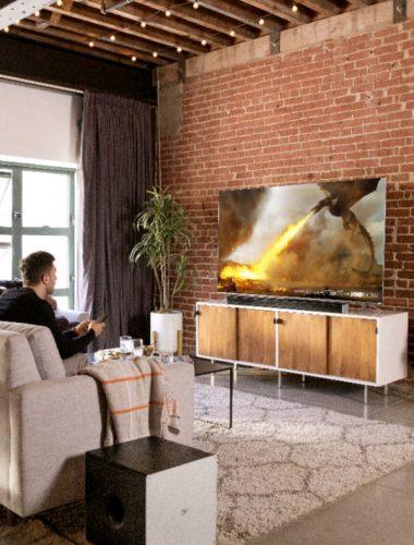 Watching the 2018 VIZIO P-Series® 4K HDR Smart TV