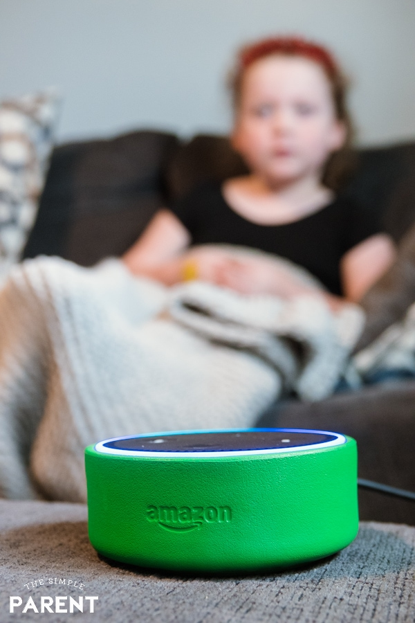 Developing independence with help from Amazon Echo Dot Kids Edition