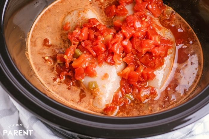 Crock Pot Chicken Taco Meat