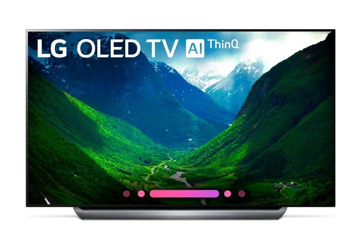 """77"""" LG LED TV from Best Buy"""