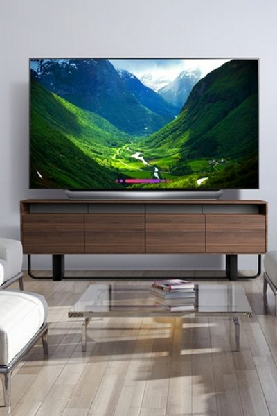 "77"" LG LED TV from Best Buy"