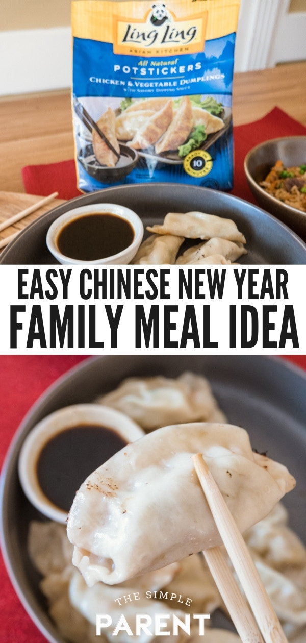 Easy Chinese New Year Meal Idea: Ling Ling Potstickers